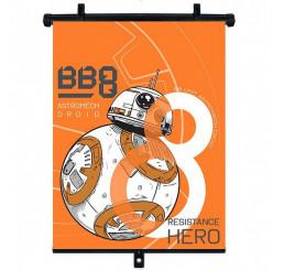 Slnečná clona Roletka Star Wars BB-8 1ks