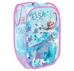 Kôš na hračky Ľadové Kráľovstvo Elsa Polyester, 36x36x58 cm