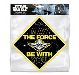 Prísavka na auto Star Wars Nech ťa sprevádza sila