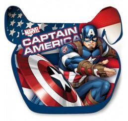 Podsedák do auta Avengers Kapitán Amerika 2020 polyetylén 15 - 36 Kg