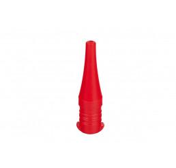 Zdravá fľaša Hokejovka - Náustok červená Polypropylén