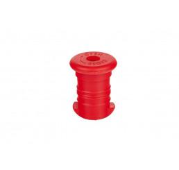 Zdravá fľaša špunt červený Polypropylén
