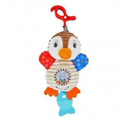 Plyšová hracka s vibráciou Tučniak Plyš, 28 cm
