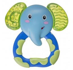 Chladiace hryzátko slon Plast, 9 cm