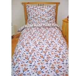 Obliečky bavlnený satén Queen Rose 140x200, 70x90