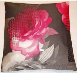Obliečka na vankúšik bavlnený satén Royal pink 40x40
