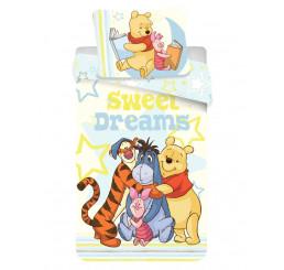 Obliečky Macko Pú Sweet Dreams 140x200, 70x90