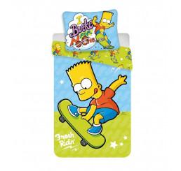 Obliečky Bart Simpson skate 03 140x200, 70x90