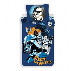 Obliečky Star Wars blue Bavlna, 140x200, 70x90 cm