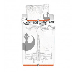 Obliečky Star Wars 9 vehicles Bavlna 140x200, 70x90 cm
