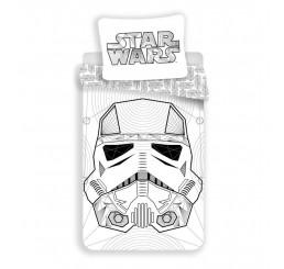 Obliečky Star Wars white Bavlna 140x200, 70x90 cm