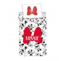 Obliečky Minnie Red Bow Bavlna 140x200, 70x90 cm