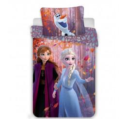 Obliečky Ľadové Kráľovstvo 2 Sister Purple Bavlna 140x200, 70x90 cm