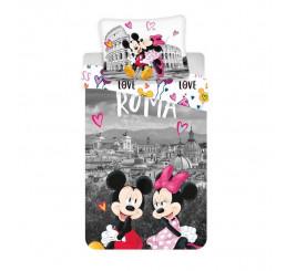 Obliečky Mickey a Minnie v Ríme 140x200, 70x90