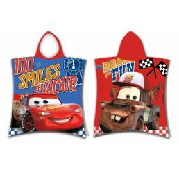 Pončo Cars Fun Bavlna Froté 50x57 cm