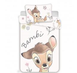 Obliečky do postieľky Bambi baby Bavlna 100x135, 40x60 cm
