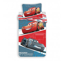 Obliečky Cars 95 grey micro 140x200, 70x90