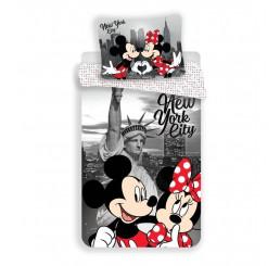Obliečky Mickey a Minnie v New Yorku 02 micro 140x200, 70x90