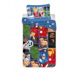 3D Obliečky Avengers Polyester 140x200, 70x90 cm