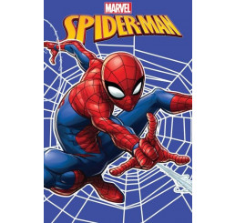 Fleece deka Spiderman web 100x150