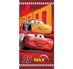 Osuška Cars 95 red Bavlna Froté 70x140 cm