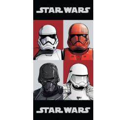 Osuška Star Wars 9 Check Bavlna Froté 70x140 cm