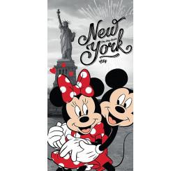 Osuška Mickey a Minnie v New Yorku 70x140