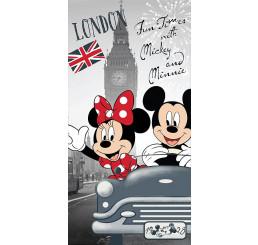 Osuška Mickey a Minnie v Londýne 70x140