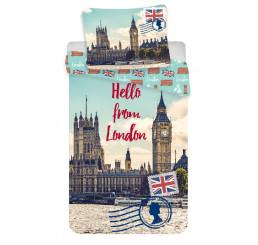 Obliečky Londýn Hello 140x200
