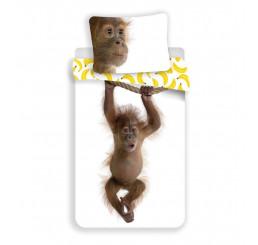 Obliečky Orangutan Bavlna, 140x200, 70x90 cm