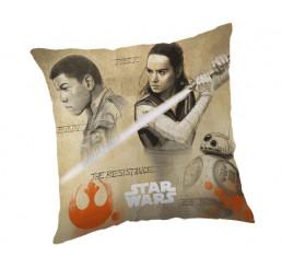 Obliečka na vankúš Star Wars 8 Finn a Rey micro 40x40