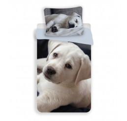 3D Obliečky Šteňa Labrador Polyester 140x200, 70x90 cm