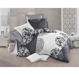 Francúzske obliečky Grey Fields Delux 220x200, 2x 70x90
