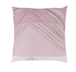Obliečka na vankúš DELUX SIMON ružová Bavlna, 40x40 cm