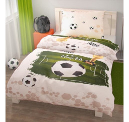 Obliečky Futbal bavlna 140x200, 70x90