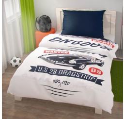 Obliečky Racing bavlna 140x200, 70x90