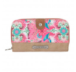 Peňaženka Catalina Estrada Faisan Beige Polyester 16 cm