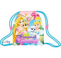 Taška na telocvik a prezuvky Princezné a maznáčikovia 41 cm