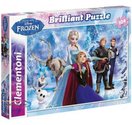 Puzzle Ľadové Kráľovstvo-Frozen Briliant 104 dielov