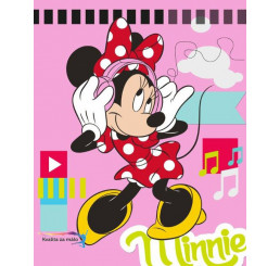 Micropolar fleece deka Minnie 120x150
