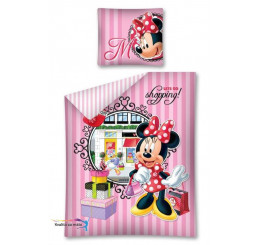 Obliečky Minnie Shopping