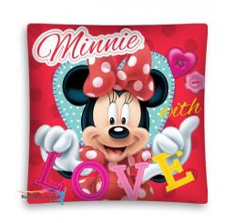 Obliečka na vankúšik Minnie Love micro 40x40