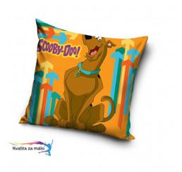 Obliečka na vankúšik Scooby Doo oranžová