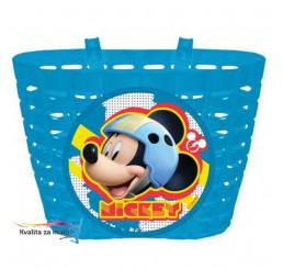 Košík na bicykel Mickey Mouse modrý
