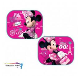 Slnečné clony Minnie Mouse ružové