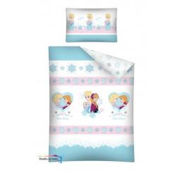 Obliečky do postieľky Ľadové Kráľovstvo-Frozen 100x135