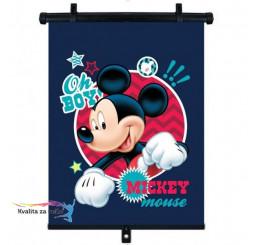 Slnečná clona Roletka Mickey Mouse 1 ks