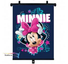 Slnečná clona Roletka Minnie Mouse 1 ks