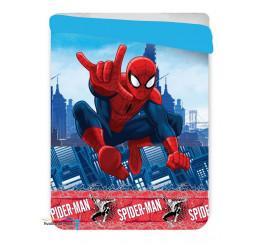 Letná prešívaná deka Spider-man 180x260