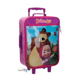 Cestovný kufor Máša a Medveď 50cm